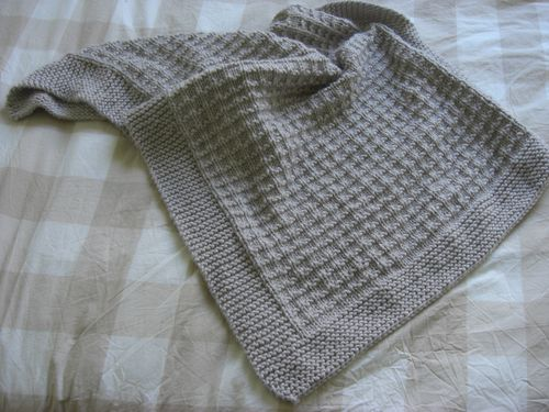 modele plaid tricot