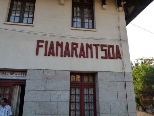 arrivée Fianarantsoa