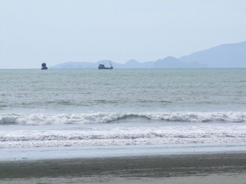 plage ranong thailande