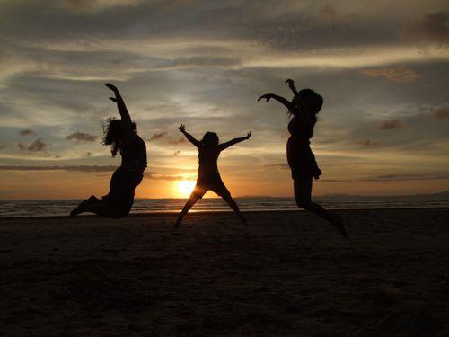 coucher soleil ranong thailande