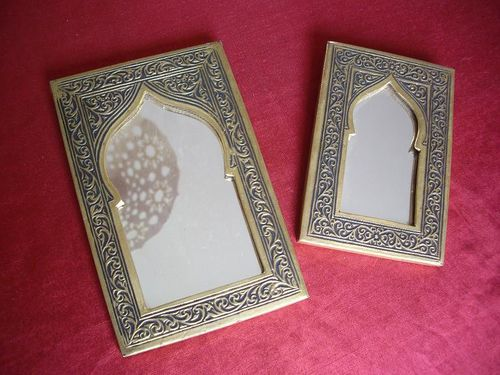 Diy tuto miroir oriental des souks l as cr ations d co for Miroir oriental