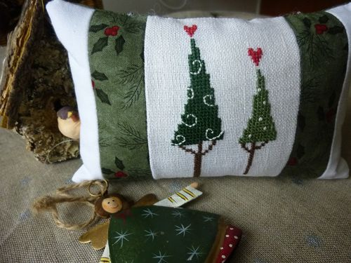 Coussin sapins