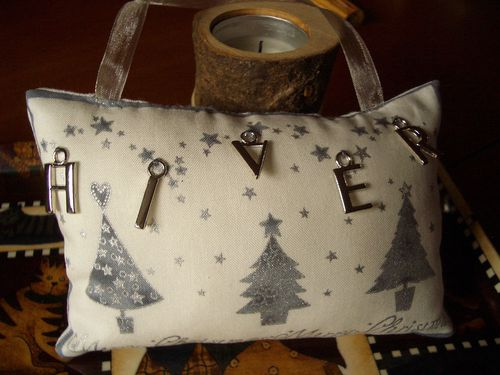 Coussin Hiver