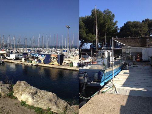 Au port des Heures Claires (GR2013 inclus)