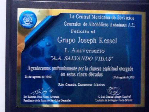 MEXIQUE 667a rio grande ZACAT grupo joseph kessel