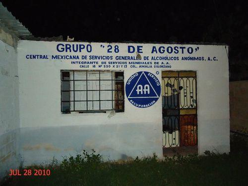 MEXIQUE 343 grupo 28 de agosto