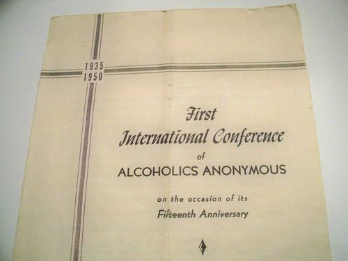 HISTOIRE 155a 1st international conference cleveland 1950