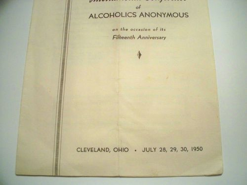 HISTOIRE 155b 1st international conference cleveland 1950