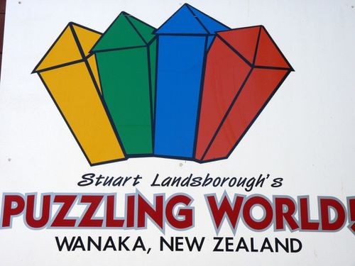 2011-01-08 #2 Wanaka Puzzling World (2)