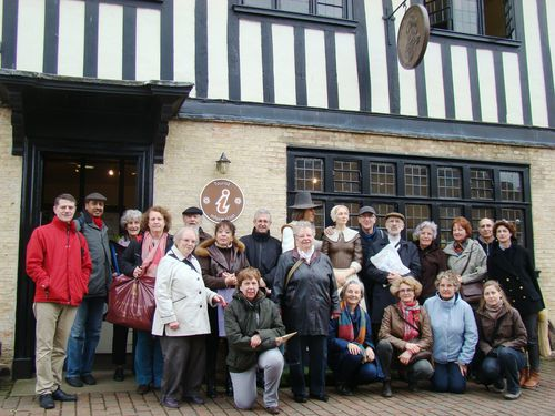 groupe dev Oliver cromwell museum