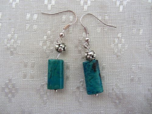 Turquoise coorail boucles