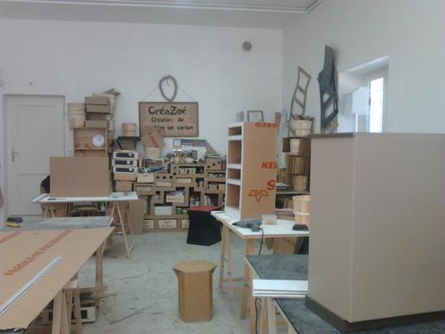 maison playmobil en carton. Black Bedroom Furniture Sets. Home Design Ideas
