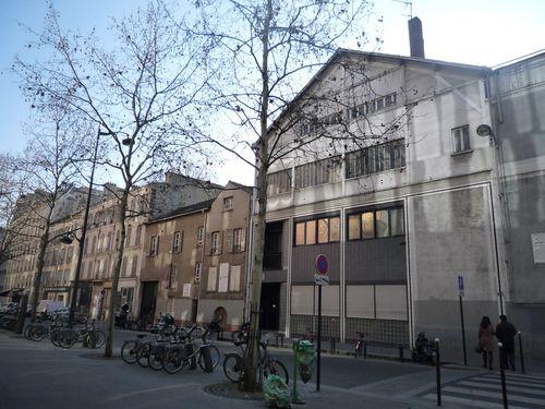 Rue du Chevaleret. Des maisons ont disparu