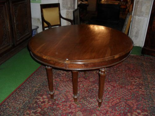 Table ovale Louis Philippe
