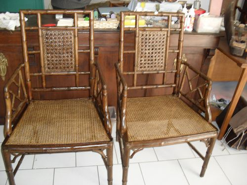 fauteuil en Bambou
