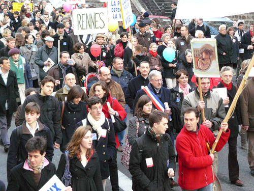 Marche pro vie Paris 2010 116