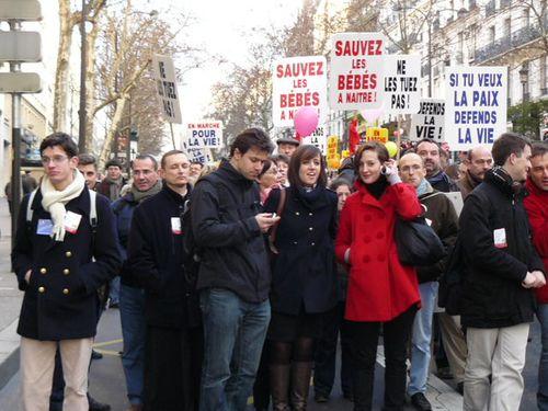 Marche pro vie Paris 2010 128