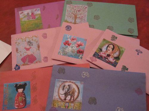 enveloppes collage tampons1