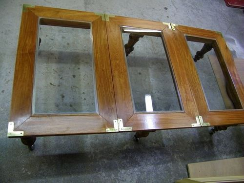 refection table basse bois de rose massif