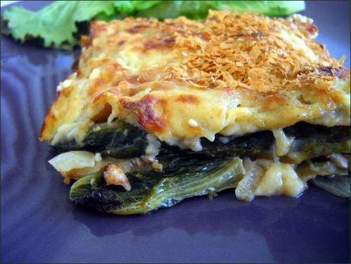 Lasagnes au tofu et à la salade cuite vegecarib868