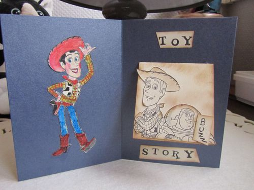 Carte toy story