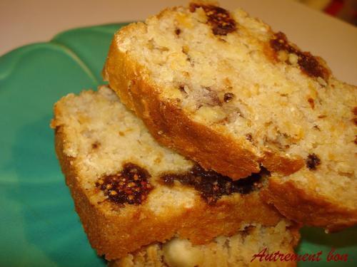 G teau aux figues noix et noisettes sans oeuf ni beurre autrement bon - Gateau sans oeuf ni lait ...