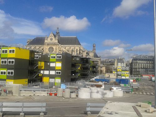 HALLES CHANTIER ST E