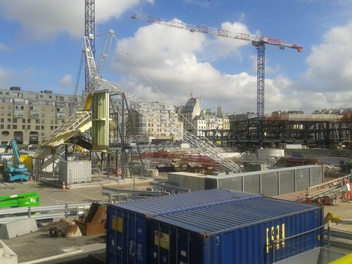 HALLES CHANTIER