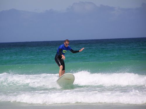 0038.Cours de surf de Vincent - Margaret River