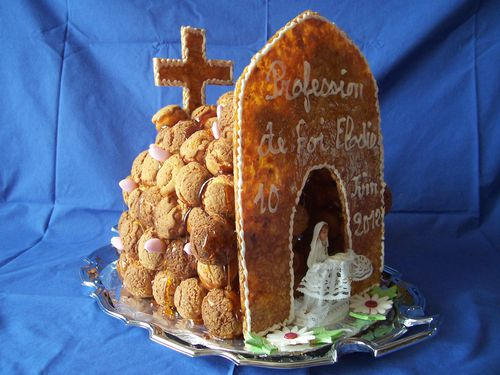 Chapelle communion pi ce mont e le blog de michelle for Idee deco 1ere communion