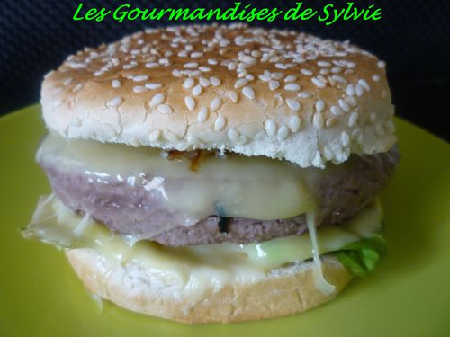 Cheese-Burger Maison 1