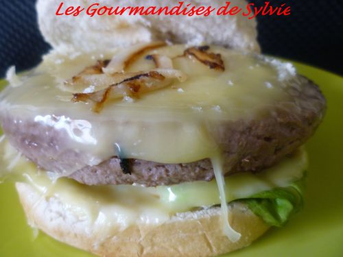 Cheese-Burger Maison 2
