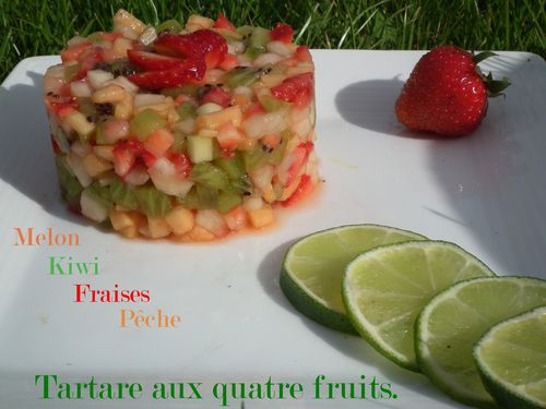 Tartare aux fruits