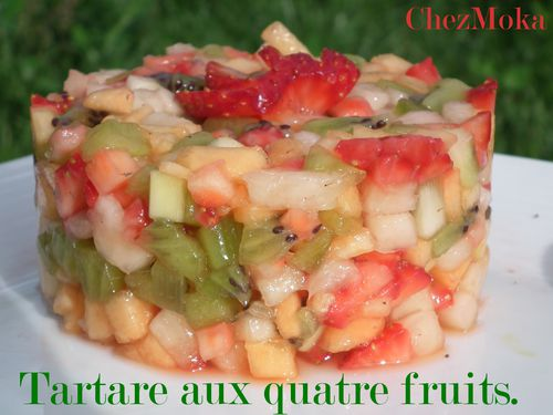 Tartare fruit