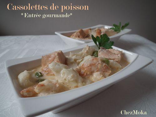 Cassolettes poisson