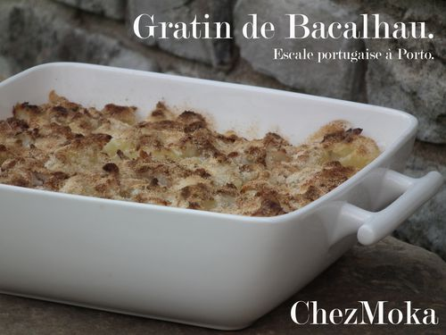 recette portugaise le gratin de bacalhau le blog de mokamilla. Black Bedroom Furniture Sets. Home Design Ideas