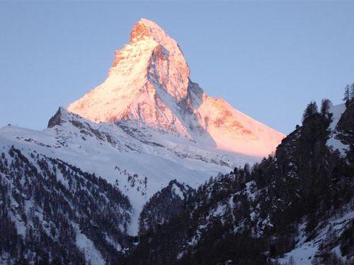 Zermatt 1, le Cervin gigantesque 4478m !