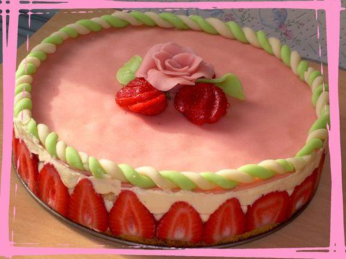 mon 1er fraisier 001