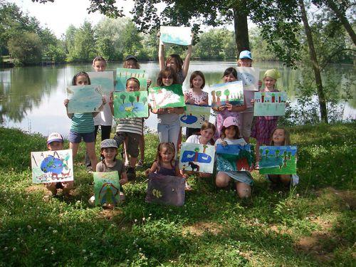Sortie Peinture Nature atelier de flo 1