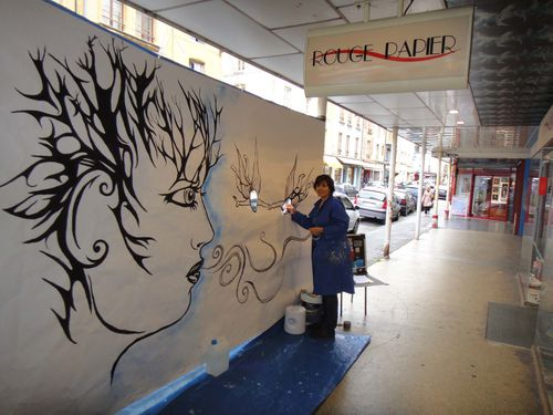Artiste Peintre Ardennes Fresque Performance 1