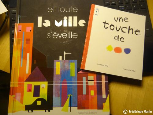 2014 03 25 books Manju et Laurie