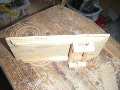 Fabriquer un chariot en bois 1 cr che d 39 amorasterix for Fabriquer un garage en bois