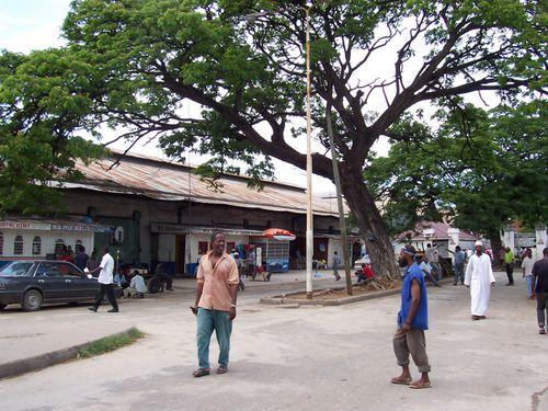 Hafengebiet Stonetown Sansibar