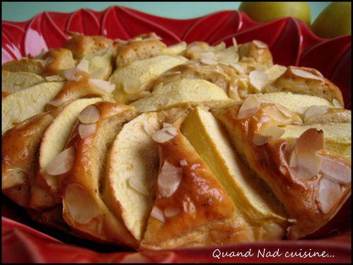 Gâteau aux pommes et caramel vanille