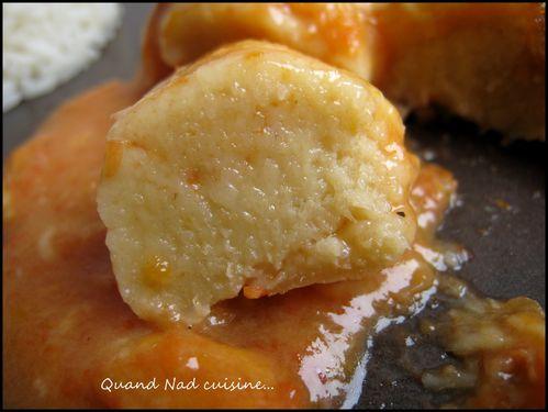 quenelles saumon sauce aurore4
