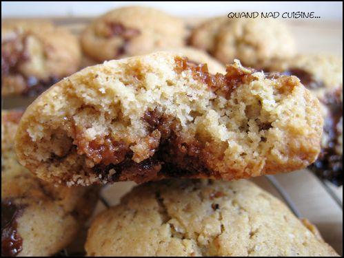 cookies beurre de cacahuètes carambars