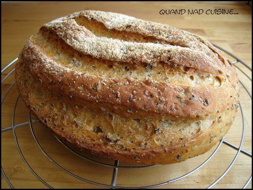 pain zébré aux graines
