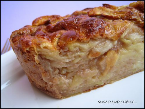 gâteau invisible pommes carambar1
