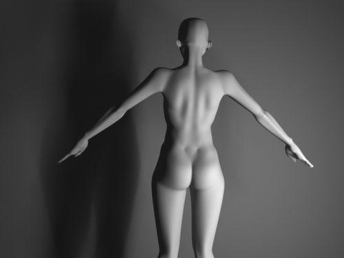 Femme dos