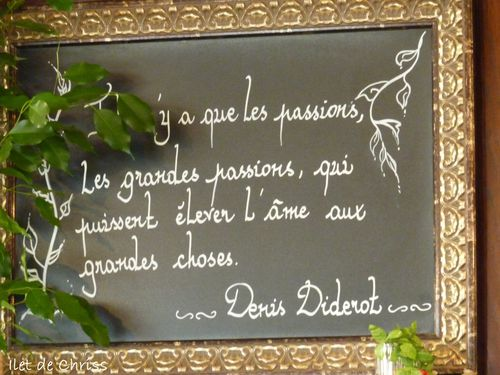 GRANDES PASSIONS DIDEROT